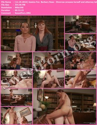 TSPussyHunters.com [12.19.2016] Jessica Fox & Barbary Rose - Divorcee arouses herself and attorney talking about cheating husband Thumbnail