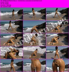 HotKinkyJo.xxx [04.16.2015] Hot Kinky Jo - Colorfull dress, sunny beach and well fisted ass Thumbnail
